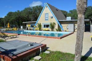 Office and Pool at St Augustine KOA