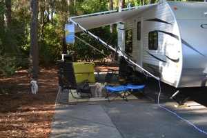 Camping at Fort Wilderness