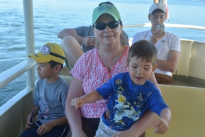 Time for a boat ride to the Magic Kingdom at Ft Wilderness